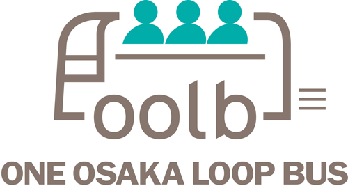 One Osaka Loop Bus Logo