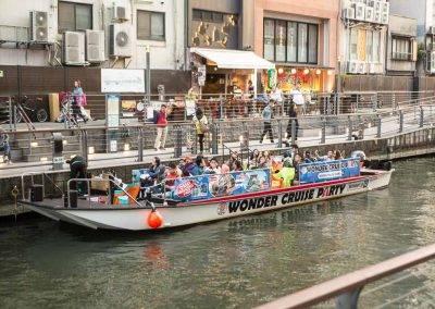 Osaka Wonder Cruise at Dotonbori-Nippombashi